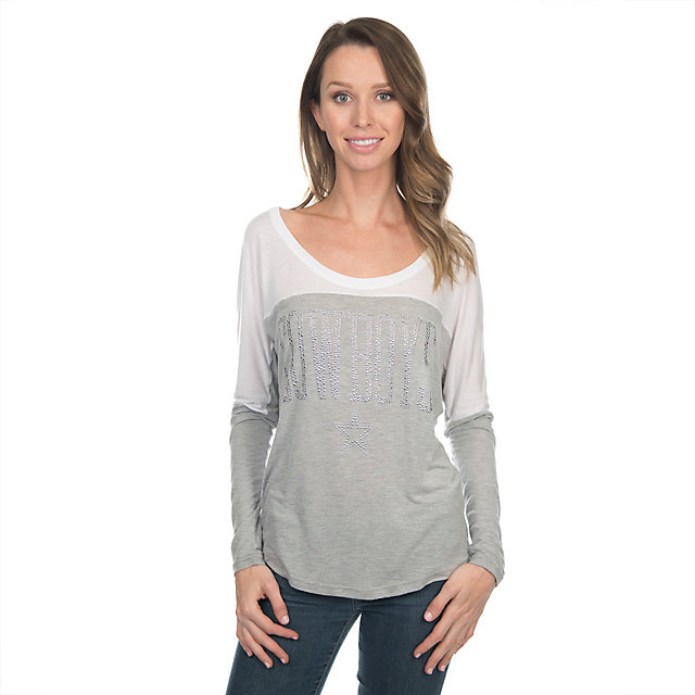 Long Sleeve | Tops | Womens | Cowboys Catalog | Dallas Cowboys Pro ...