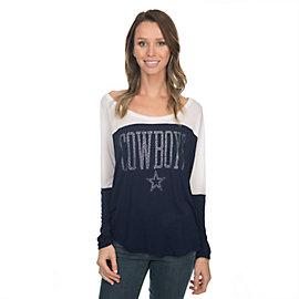 Dallas Cowboys Poole Long Sleeve Top
