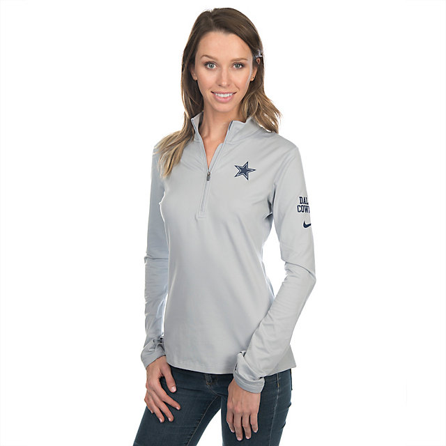 Dallas Cowboys Nike Tailgate Element Half-Zip Top