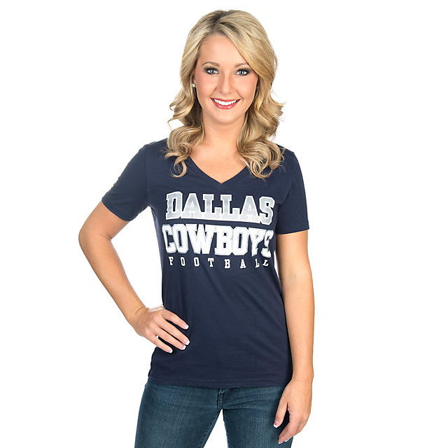Dallas Cowboys Practice Glitter Tee