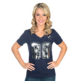 Dallas Cowboys Dez Shimmer Away Tee