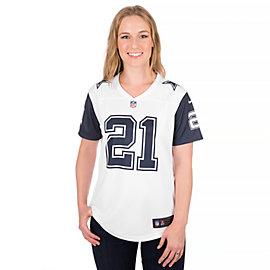 Dallas Cowboys Womens Ezekiel Elliott #21 Nike XC2 Color Rush Tee