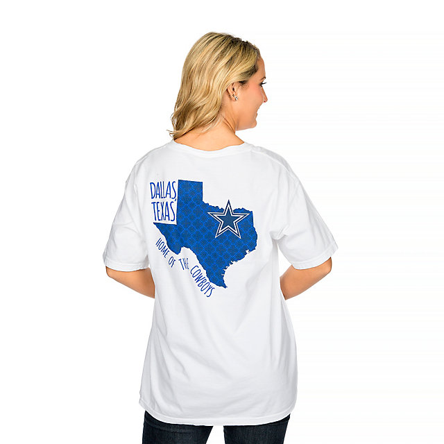 Dallas Cowboys Patterned State Tee