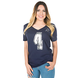 Dallas Cowboys Dak Shimmer Away Tee