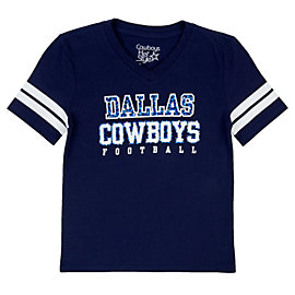 Dallas Cowboys Girls Longley Tee