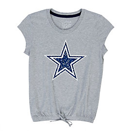 Dallas Cowboys Girls Cassidy Tee