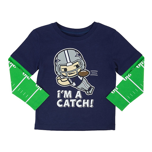 Dallas Cowboys Toddler Hickok Layered Tee