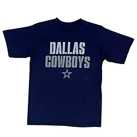 Dallas Cowboys Youth Stencil Stack Tee