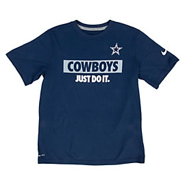 Dallas Cowboys Nike Youth Just Do It Tee