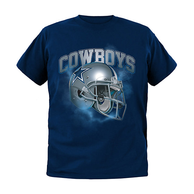 Dallas Cowboys Kids Vapor Helmet Tee