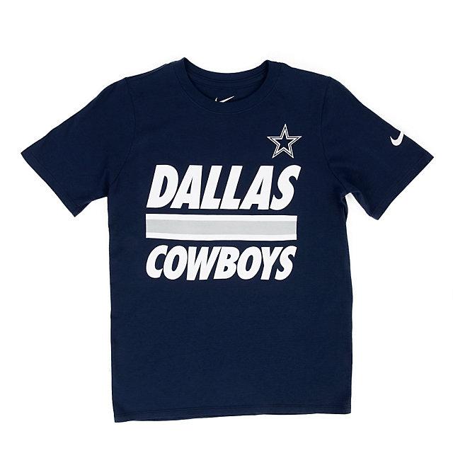 Dallas Cowboys Nike Youth Stripe Tee