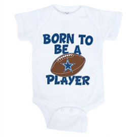 Dallas Cowboys Infant Born To Be Bodysuit