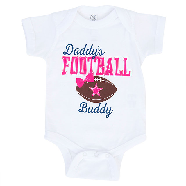 Dallas Cowboys Infant Daddy's Girl Bodysuit