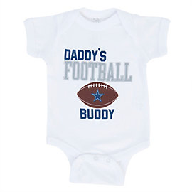 Dallas Cowboys Infant Daddy's Boy Bodysuit