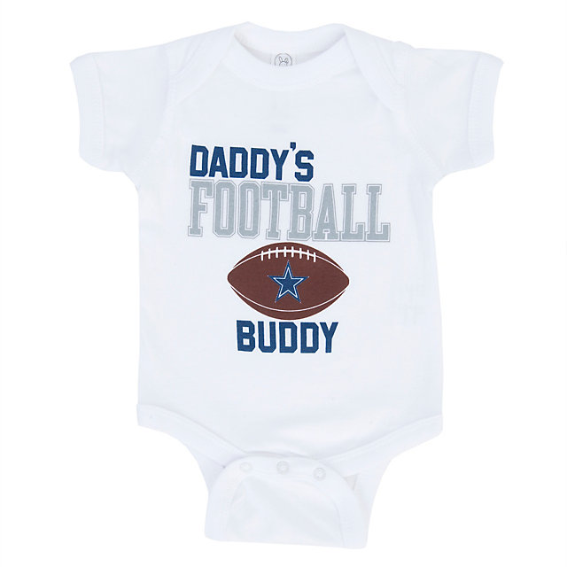 Dallas Cowboys Infant Daddy S Boy Bodysuit Infant