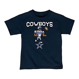 Dallas Cowboys Kids Techmo Player Tee