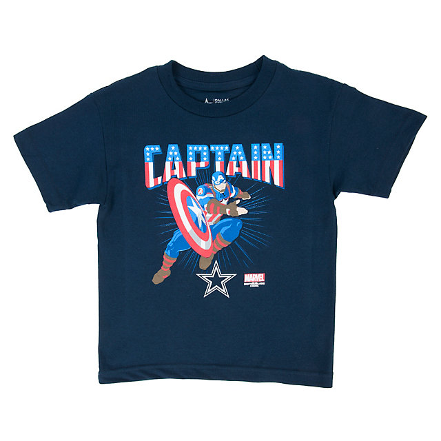 Dallas Cowboys MARVEL Toddler Team Captain Tee