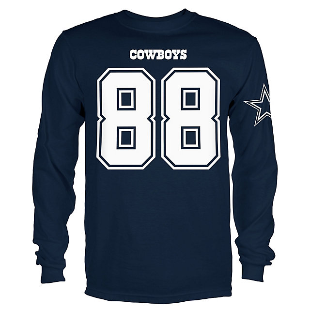 Dallas Cowboys Youth Dez Bryant #88 Long Sleeve Player Tee