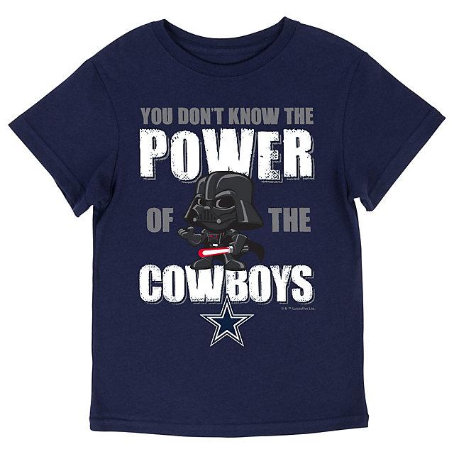 Dallas Cowboys Star War Kids Cowboys Power Tee