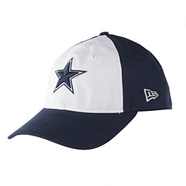 Dallas Cowboys New Era Core Shore White Front 9Twenty Cap