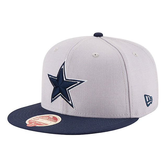 Dallas Cowboys New Era Wool Standard 59Fifty Cap