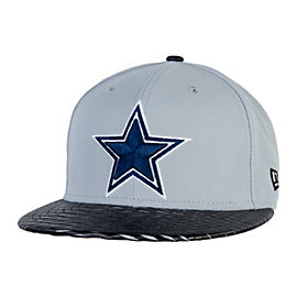 Dallas Cowboys New Era Leather Ripped 59Fifty Cap