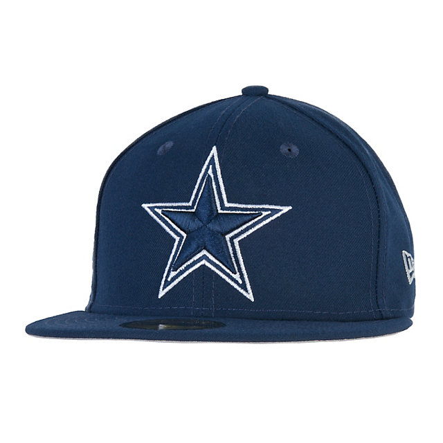Dallas Cowboys New Era Tribute Turn Fitted 59Fifty Cap