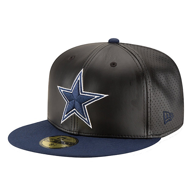 Dallas Cowboys New Era Perfly Stated Fitted 59Fifty Cap