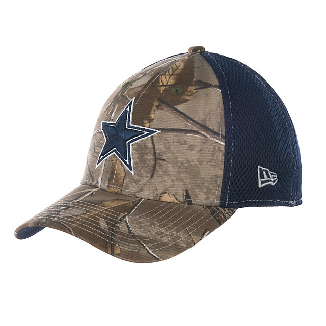Dallas Cowboys New Era RealTree Neo 39Thirty Cap
