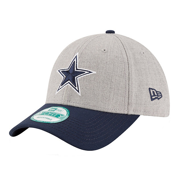Dallas Cowboys New Era The League Heather 9Forty Cap