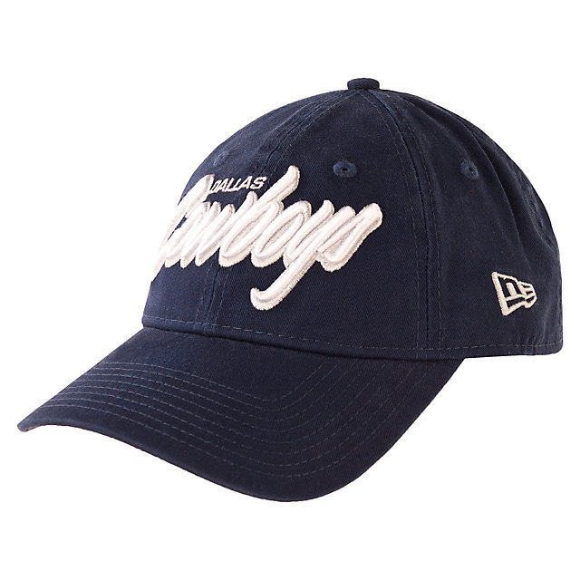 Dallas Cowboys New Era Core Script 9Twenty Cap