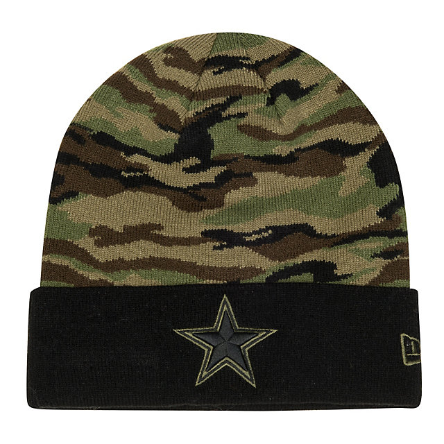 Dallas Cowboys New Era Print Play Knit Hat