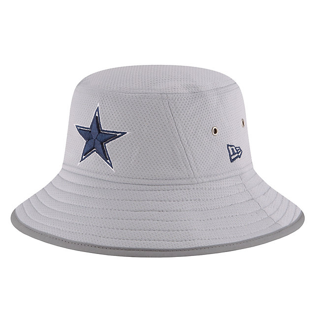 Dallas Cowboys New Era Fan Gear Training Bucket Hat