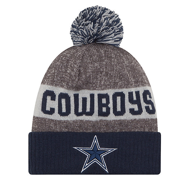 Dallas Cowboys New Era On-Field Sport Knit Hat