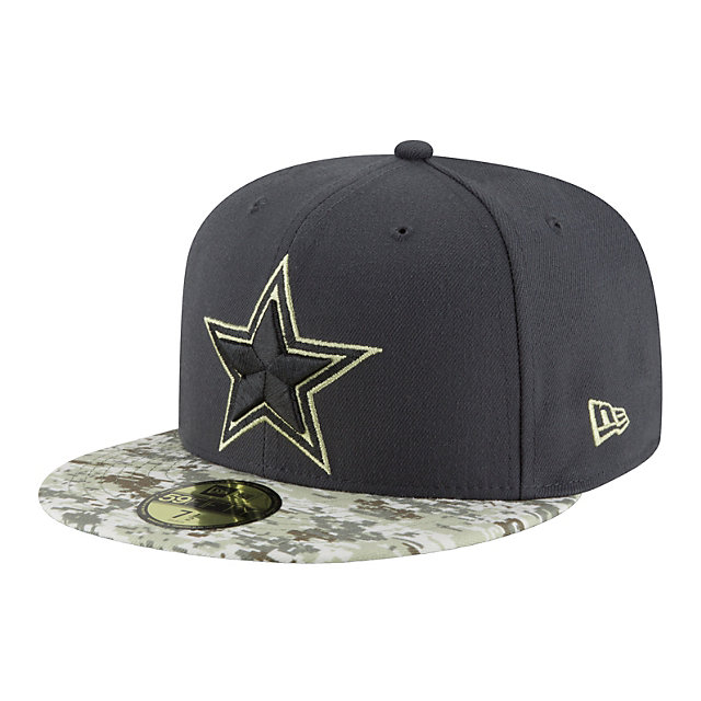 Dallas Cowboys New Era Salute to Service 59Fifty Cap