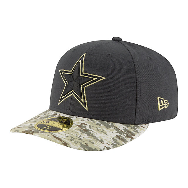 Dallas Cowboys New Era Salute to Service Low Crown 59Fifty Cap