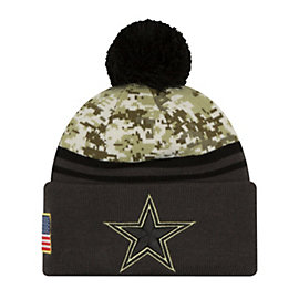 Dallas Cowboys New Era Salute to Service Sport Knit Hat