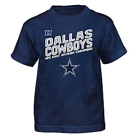 Dallas Cowboys Kids 2016 NFC East Division Champs Tee