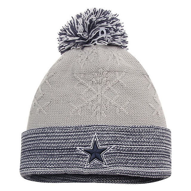 Dallas Cowboys New Era Snow Crown Redux Knit Hat