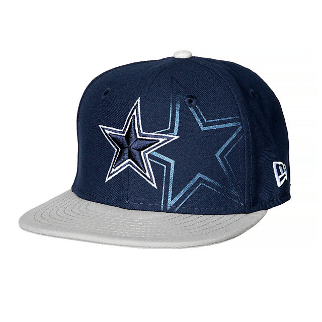Dallas Cowboys New Era Jr 2-Tone Treasure 59Fifty Cap