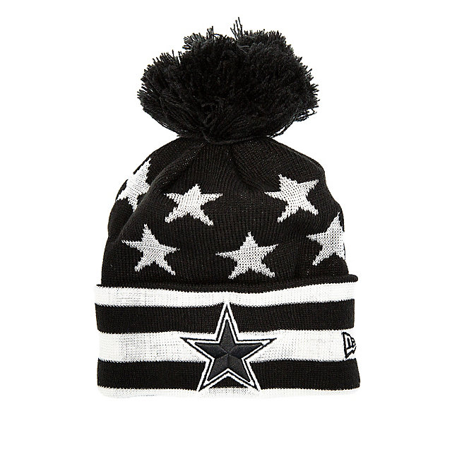 Dallas Cowboys New Era Jr Starry Knit Hat