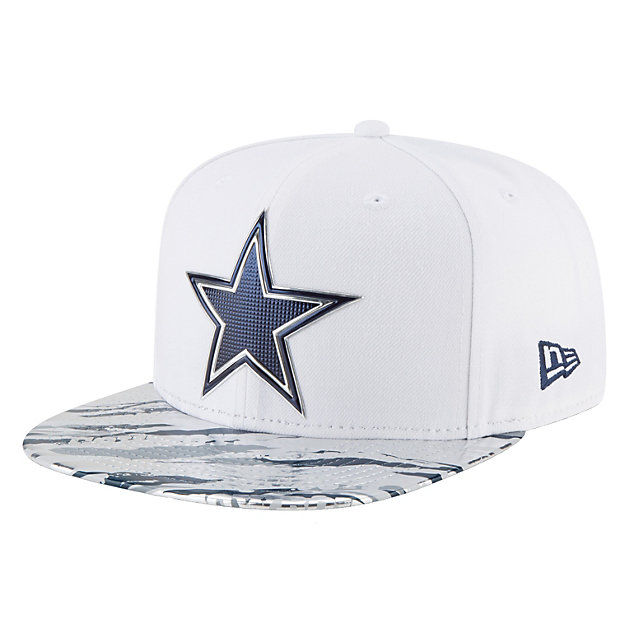 Dallas Cowboys New Era Youth On Field Color Rush 9Fifty Cap