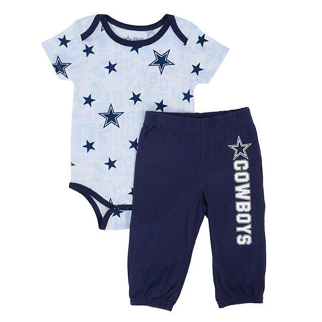 Dallas Cowboys Infant Ringo Bodysuit/Pant Set