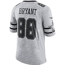 Dallas Cowboys Dez Bryant #88 Nike Gridiron Grey Jersey