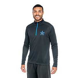 Dallas Cowboys Shock Stilwell Training Quarter-Zip Pullover