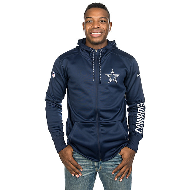 Dallas Cowboys Nike Circuit Full Zip Hoodie