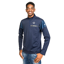 Dallas Cowboys Nike Elite Coaches 1/2 Zip Top