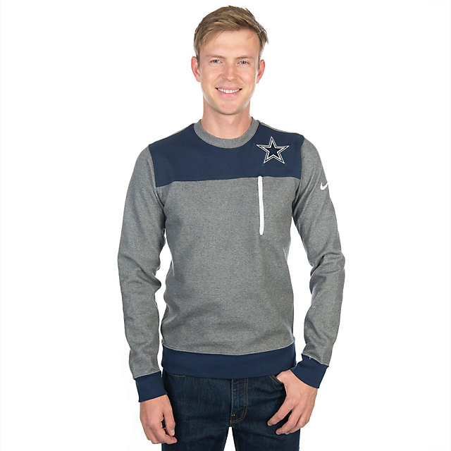 Dallas Cowboys Nike AV15 Fleece Crew