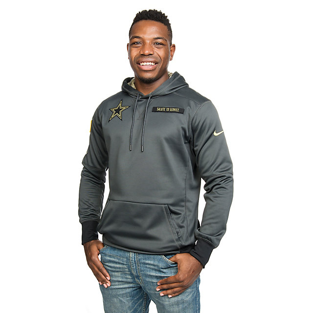 Dallas Cowboys Nike Salute to Service Fleece Pullover Hoody