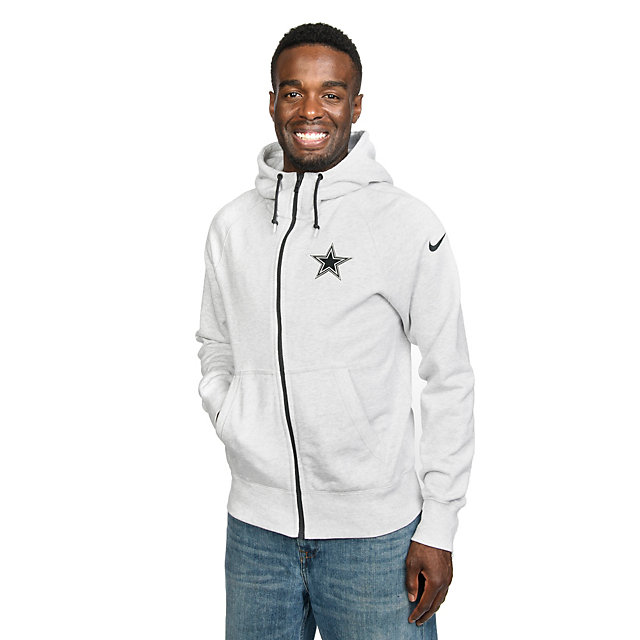 Dallas Cowboys Nike Gridiron Grey Fleece Hoody
